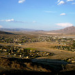 Fort Irwin Army Base - with mountain background — Stockfoto #13941509