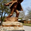 Hico Texas Brushy Bill Statue — Stock Photo #14407049