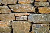 Cemetery Rock Wall-1 — Stock Photo