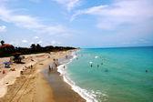 Jupiter Florida on beach — Stock Photo