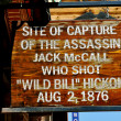 Deadwood Jack McCall Capture — Stock Photo