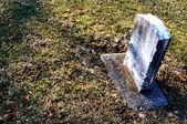 Cmentarzu nagrobek tło — Zdjęcie stockowe