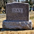 Stock Photo: Cemetary Headstone Day