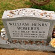 Stock Photo: William Henry Roberts Grave