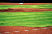 Baseball pitchers mound — Stock Photo