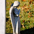 Stock Photo: Gravesite - Angel - Looking Away