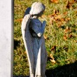 Gravesite - Angel - Looking Away — Stock Photo