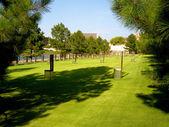 Pomnik zamachu w oklahoma city — Zdjęcie stockowe