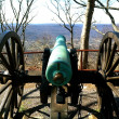 Cannon over Point Park — Stock Photo