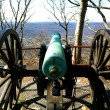 Cannon over Point Park - Stock Photo