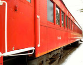 Red Train Car 2 — Stock Photo