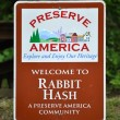 Stock Photo: Preserve Americ- Rabbit Hash