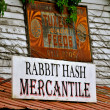 Stock Photo: Rabbit Hash Mercantile
