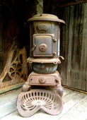 Rabbit Hash Wood Stove — Stock Photo