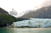 Glacier Mountain and Water — Stockfoto