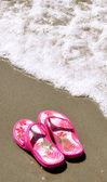 In the Sand - Flip-Flops 15 — Stock Photo