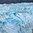 Stock Photo: Glaciers with Blue Caps