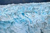 Glaciers with Blue Caps — Stock Photo