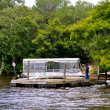 Stock Photo: Waccamaw River - Docked Boat