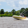 Stock Photo: Waccamaw River Boating