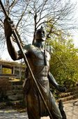Native American Statue - Chattanooga 3 — Foto Stock
