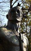 Native American Statue - Chattanooga 4 — Foto Stock