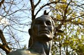 Native American Statue - Chattanooga 5 — Foto Stock