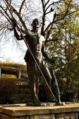 Native American Statue - Chattanooga 2 — Foto Stock