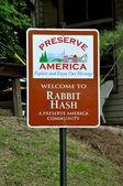 Tavşan karma işareti — Stok fotoğraf