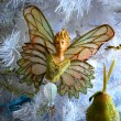 Butterfly Angel Ornament — Stock Photo