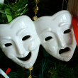 Theatre Mask Ornament — Stock Photo