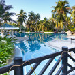 Resort swimming pool — Foto de stock #17589503