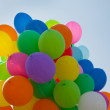 Balloons on blue sky — Stock Photo #17589607