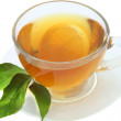 Cap of tea — Stock Photo