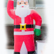 Santa Claus toy decor - Stock Photo