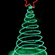 Stock Photo: Christmas illumination decor