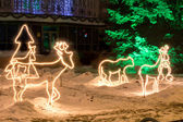 照亮圣诞装饰 — 图库照片