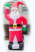 Santa Claus toy decor — Stock Photo