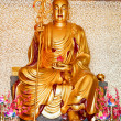 Buddhistic statue - Stock Photo