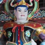 Buddhistic statue buddhism — Stock Photo #19083433
