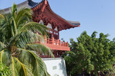 Buddhist pagoda in a park, China, Hainan Island, Sanya — Stock Photo