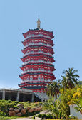 Buddhist pagoda, China, Hainan Island, Sanya — Stock Photo