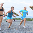 Exercising women - Stock Photo