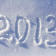 Happy New Year 2013 background - Stock Photo