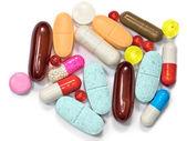 Pills vitamin supplement capsules — Stock Photo
