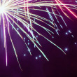 Stock Photo: Fireworks Background
