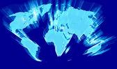 Maps world illustration — Stock Photo
