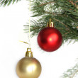 Christmas balls — Stock Photo #22255059