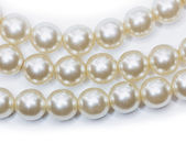 Necklace of pearl — Stock Photo