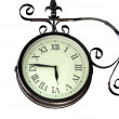 Stock Photo: Old clock time